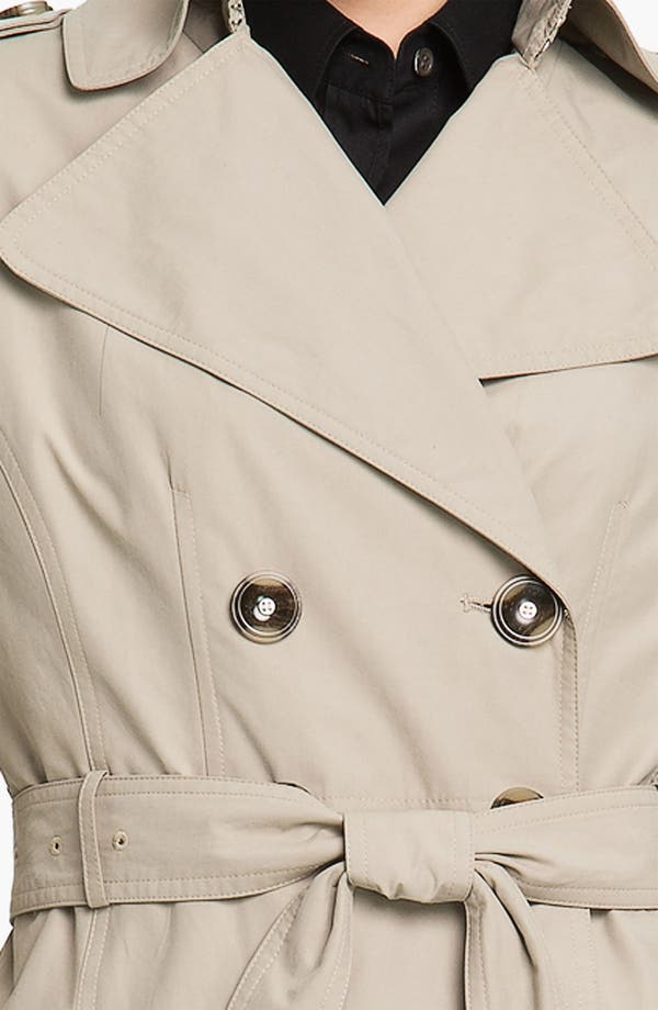Alternate Image 3  - Calvin Klein Double Breasted Trench Coat