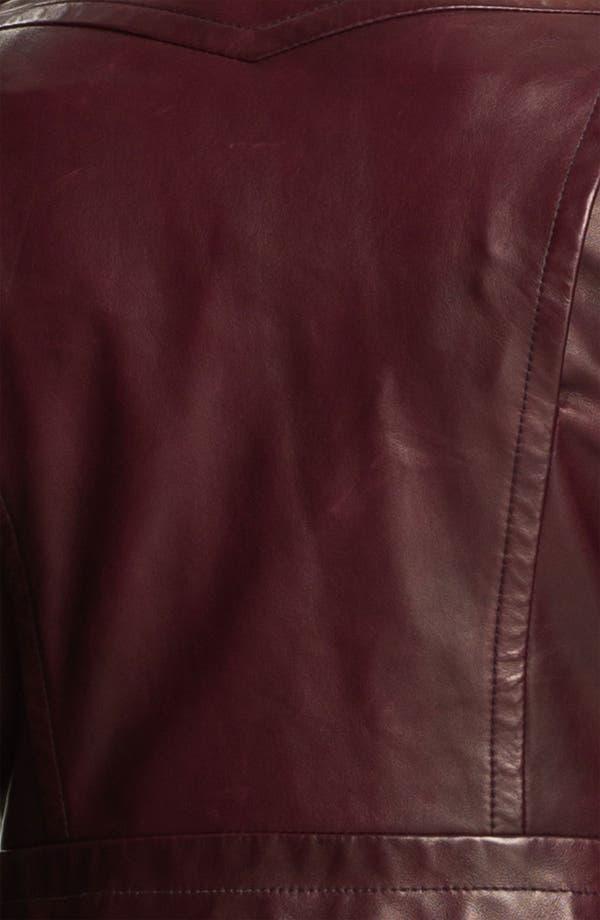 Alternate Image 4  - Kelly Wearstler 'Triton' Asymmetrical Leather Jacket
