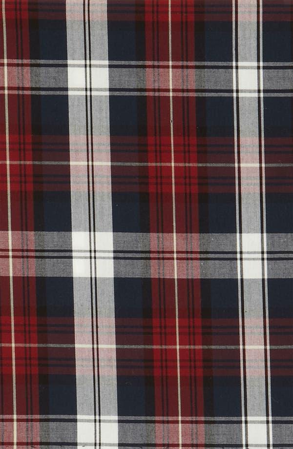 Alternate Image 3  - The Tie Bar Plaid Cotton Pocket Square