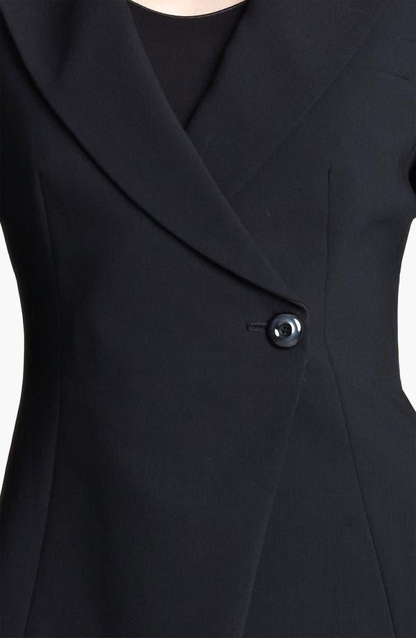 Alternate Image 3  - Armani Collezioni Asymmetrical Featherweight Wool Jacket