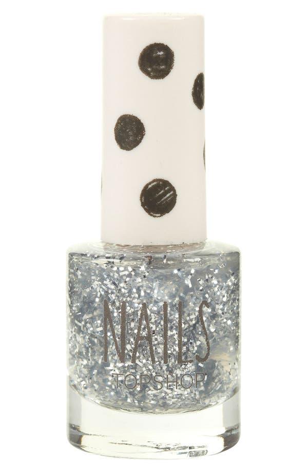 Main Image - Topshop Glitter Nail Polish
