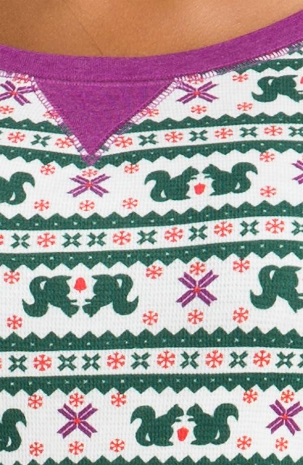 Alternate Image 3  - Make + Model Pattern Thermal Pajamas