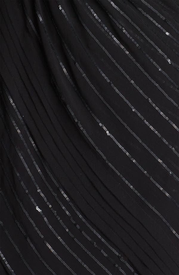 Alternate Image 3  - Vince Camuto Sequin Stripe Chiffon Dress