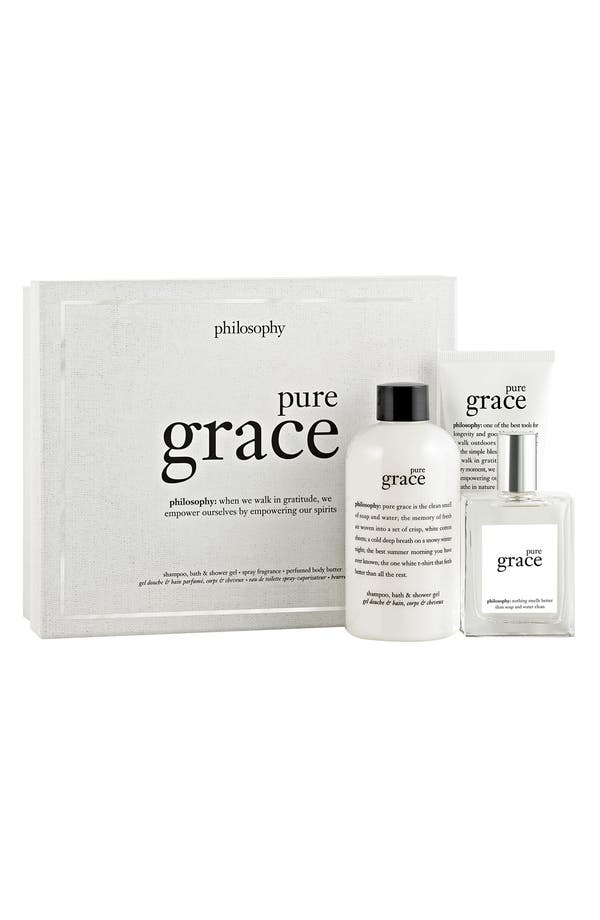 Main Image - philosophy 'pure grace' fragrance layering collection ($77 Value)