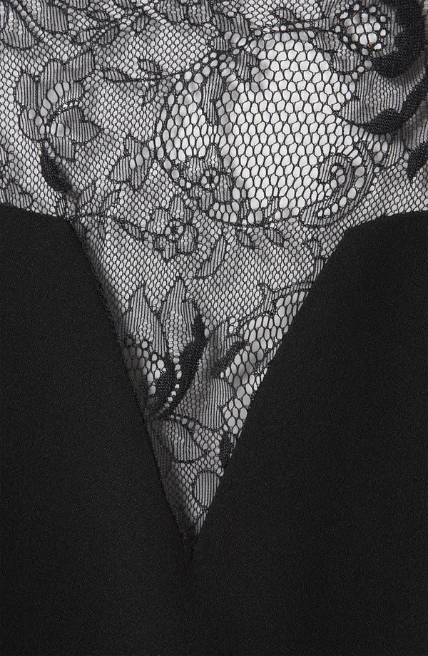 Alternate Image 3  - Topshop Lace Yoke Romper