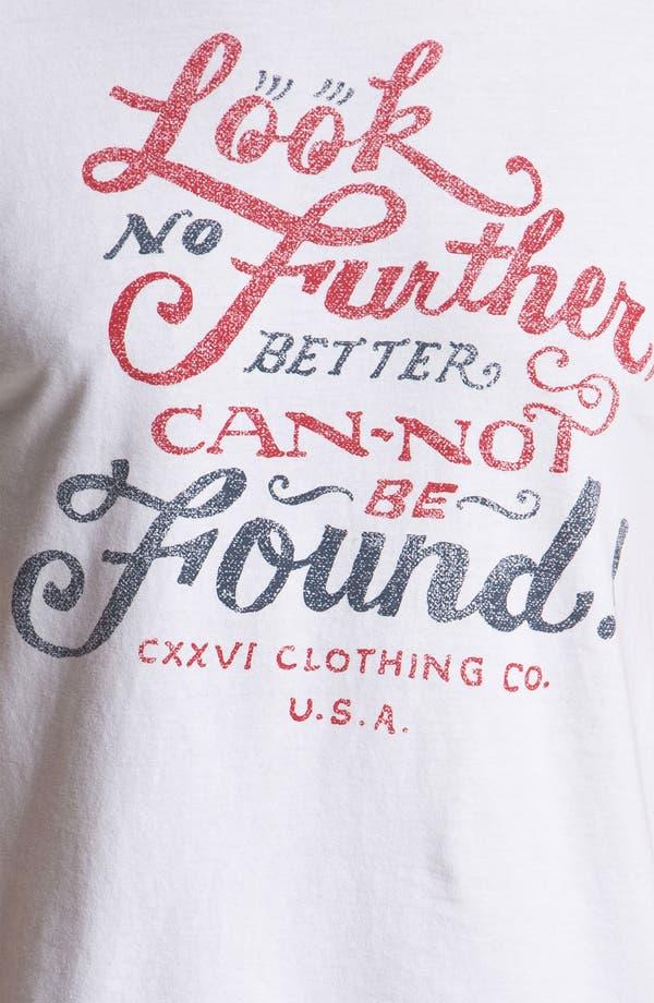 Alternate Image 3  - CXXVI 'Look No Further' Trim Fit T-Shirt