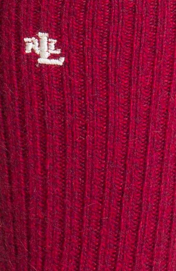 Alternate Image 2  - Ralph Lauren Crew Socks