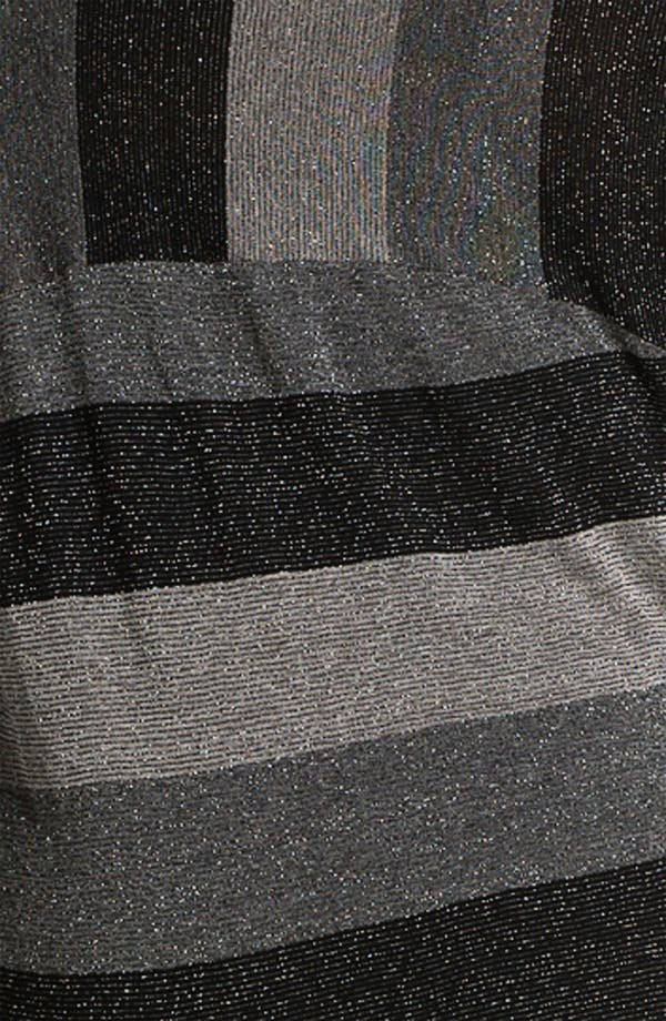 Alternate Image 3  - Splendid Metallic Stripe Pullover (Plus)