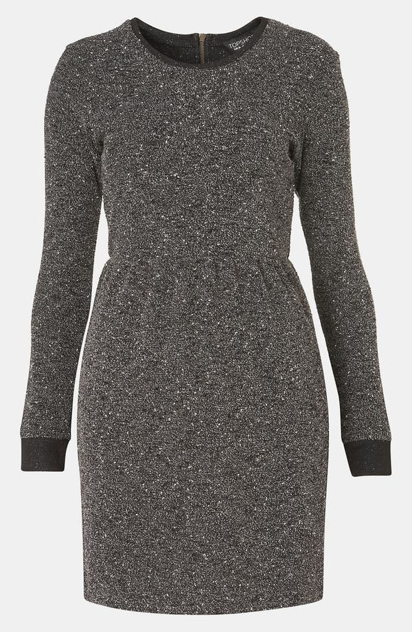 Alternate Image 1 Selected - Topshop Mélange Knit Dress