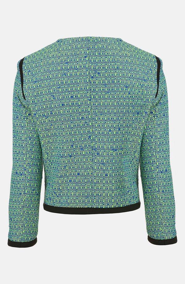 Alternate Image 2  - Topshop Bouclé Jacket