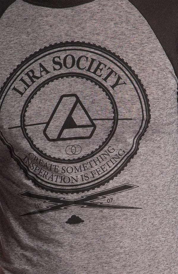 Alternate Image 3  - Lira Clothing Graphic Crewneck T-Shirt
