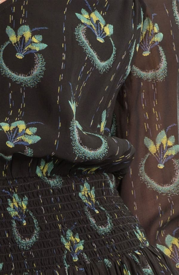 Alternate Image 3  - Free People 'Wildflower' Print Gauze Dress