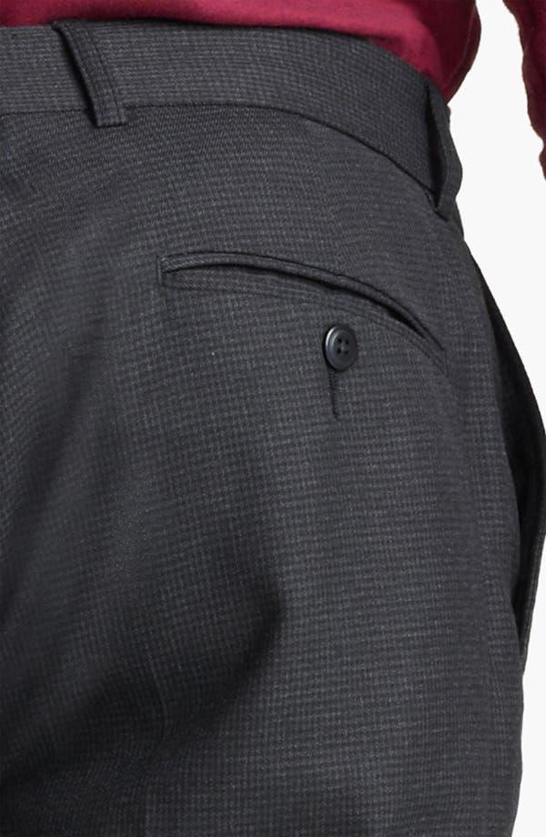 Alternate Image 3  - Topman Houndstooth Skinny Trousers