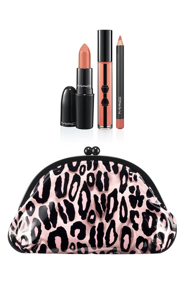 Alternate Image 1 Selected - M·A·C 'Primped Out - Lavish Coral' Lip Look Bag