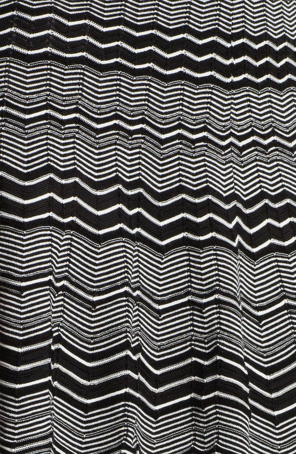 Alternate Image 3  - M Missoni Micro Zigzag Pleat Skirt