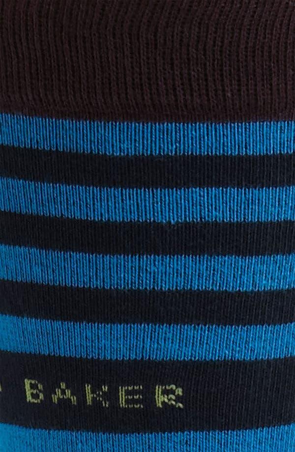 Alternate Image 2  - Ted Baker London 'Staggered Line' Socks