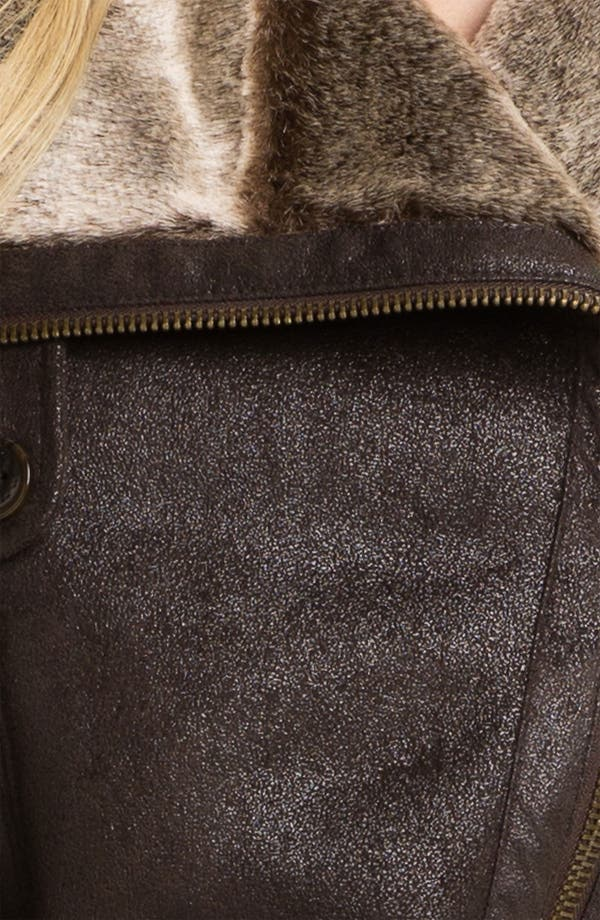 Alternate Image 3  - Marc New York by Andrew Marc Faux Shearling Coat
