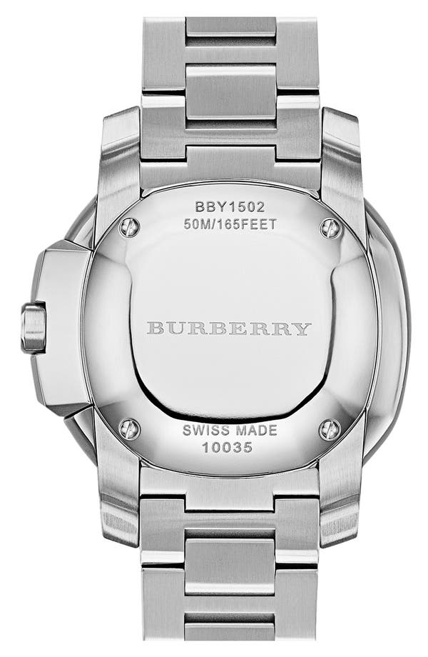 Alternate Image 2  - Burberry The Britain Bracelet Watch, 38mm