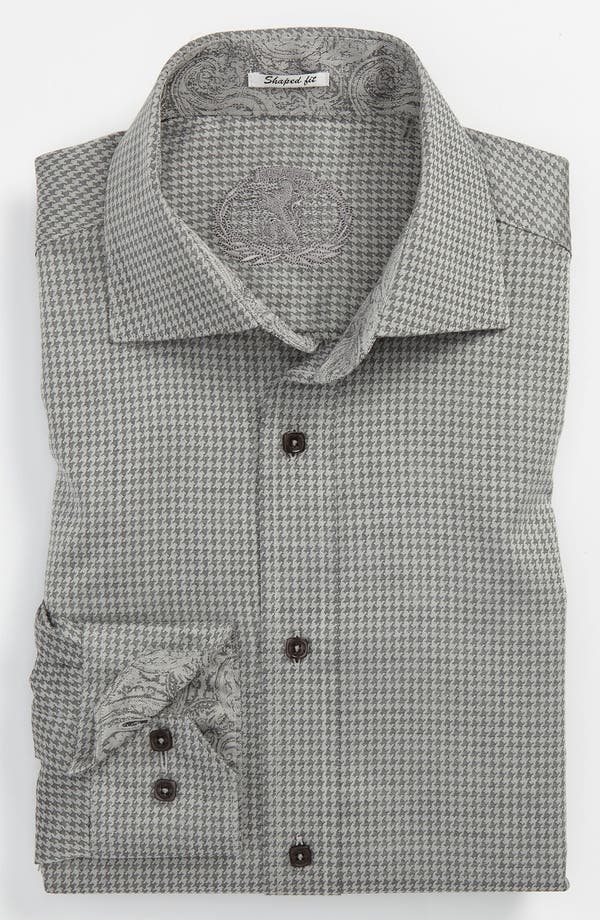 Alternate Image 2  - Bugatchi Uomo Shaped Fit Sport Shirt