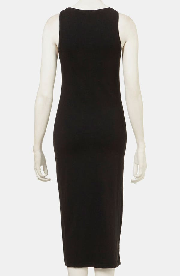 Alternate Image 2  - Topshop 'Studded Cross' Midi Tank Dress