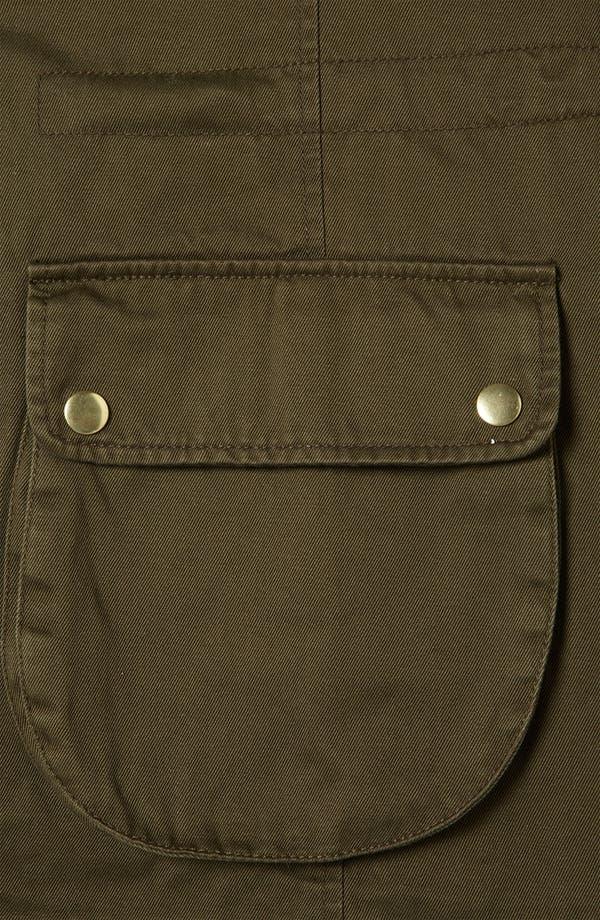 Alternate Image 3  - Topshop Hooded Utility Jacket