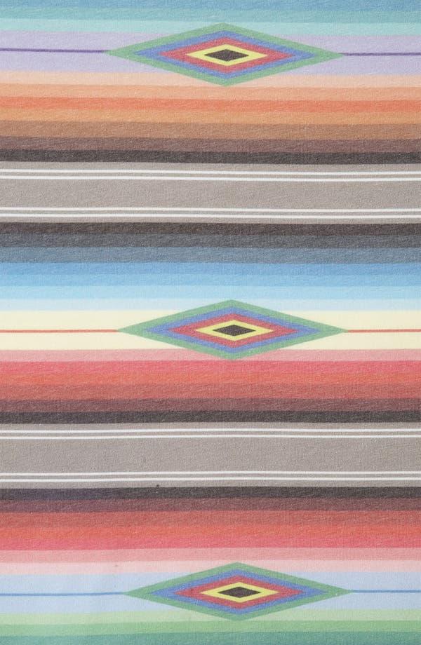 Alternate Image 3  - Topman Blanket Stripe Print T-Shirt
