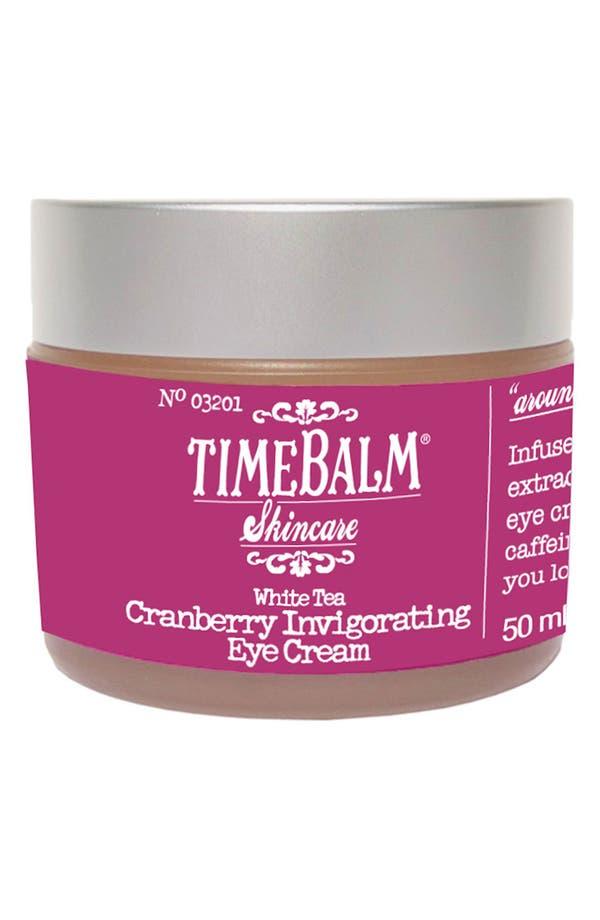 Main Image - theBalm® 'TimeBalm®' Cranberry Invigorating Eye Cream