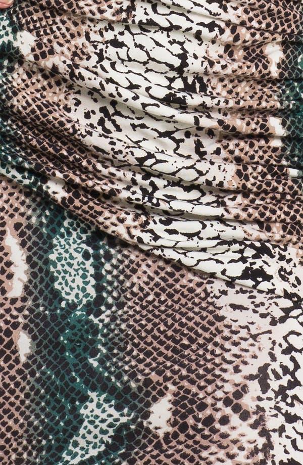 Alternate Image 3  - Tart Snakeskin Print Surplice Sheath Dress
