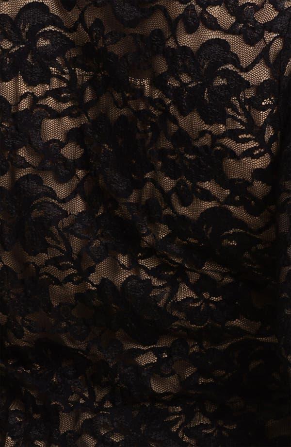 Alternate Image 3  - Karen Kane 'Kate' Lace Top (Plus)
