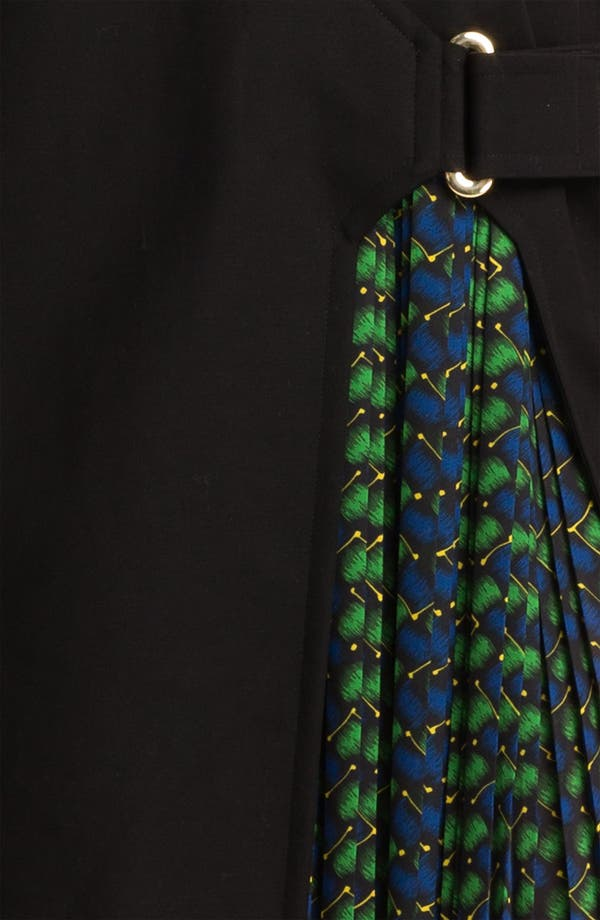 Alternate Image 3  - KENZO Side Belted Stretch Cotton Dress