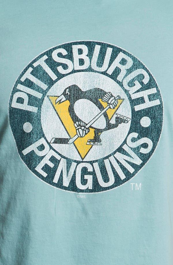 Alternate Image 3  - The Original Retro Brand 'Pittsburgh Penguins - Stitch' T-Shirt