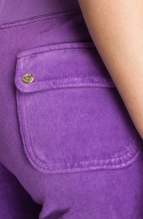 Alternate Image 3  - Juicy Couture Velour Pocket Pants