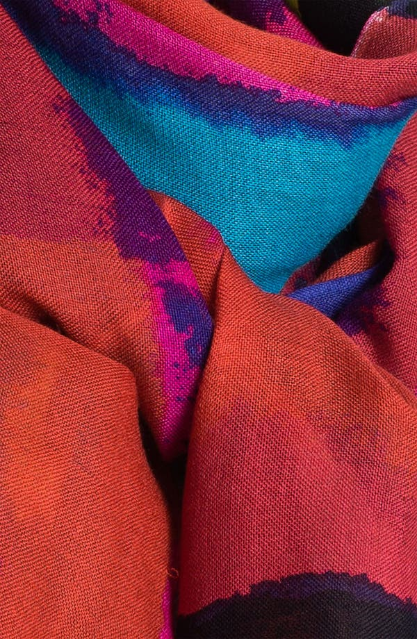 Alternate Image 2  - kate spade new york abstract wool scarf