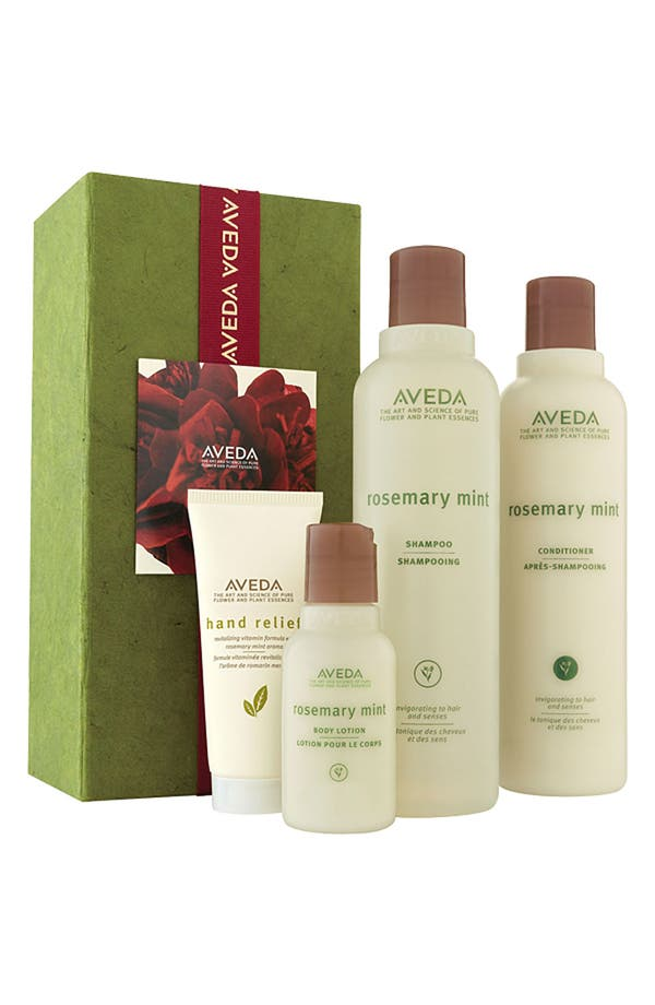Alternate Image 1 Selected - Aveda 'Refresh Mint' Gift Set