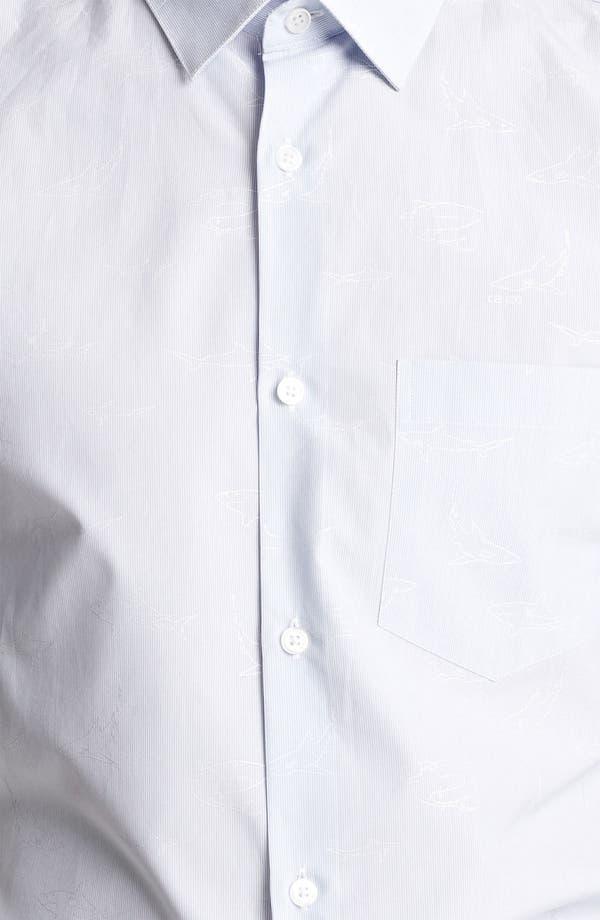 Alternate Image 3  - KENZO Shark Print Woven Shirt