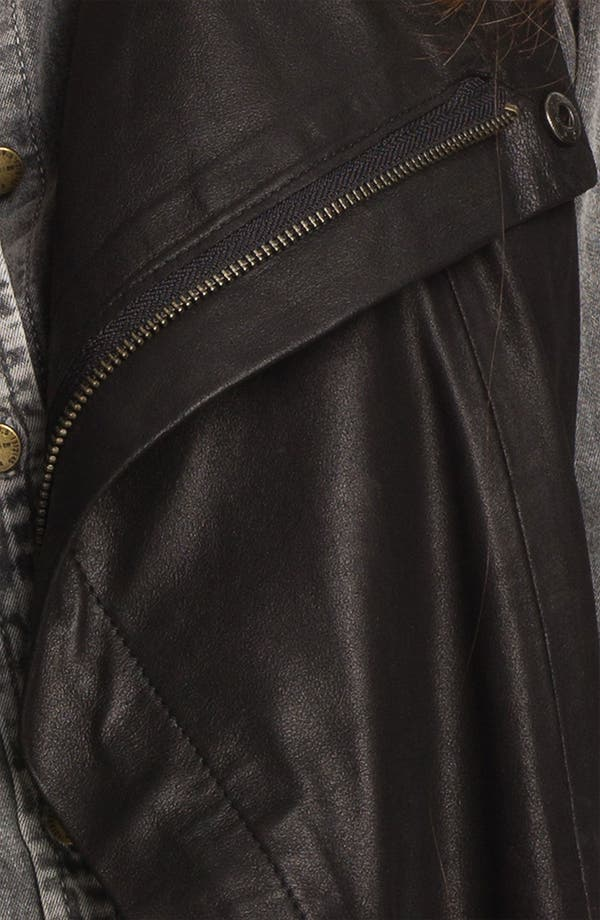 Alternate Image 3  - Kenna-T Leather Vest