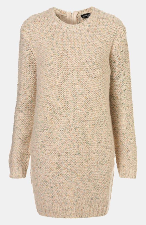 Main Image - Topshop Zip Back Sweater