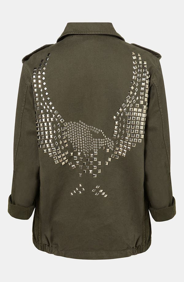 Alternate Image 1 Selected - Topshop 'Army' Jacket