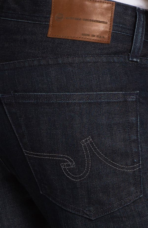Alternate Image 4  - AG 'Matchbox' Slim Fit Jeans (3 Year Tonal)