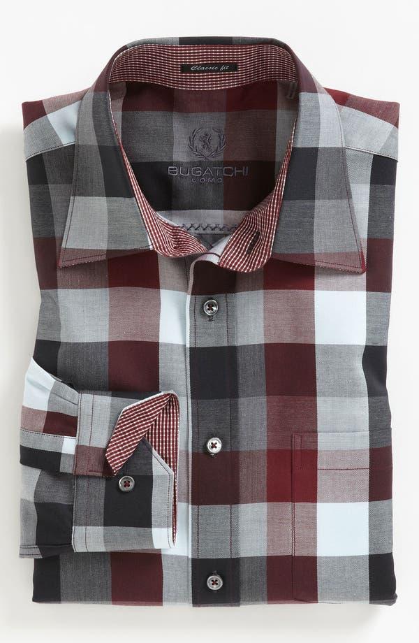 Alternate Image 2  - Bugatchi Uomo Regular Fit Sport Shirt