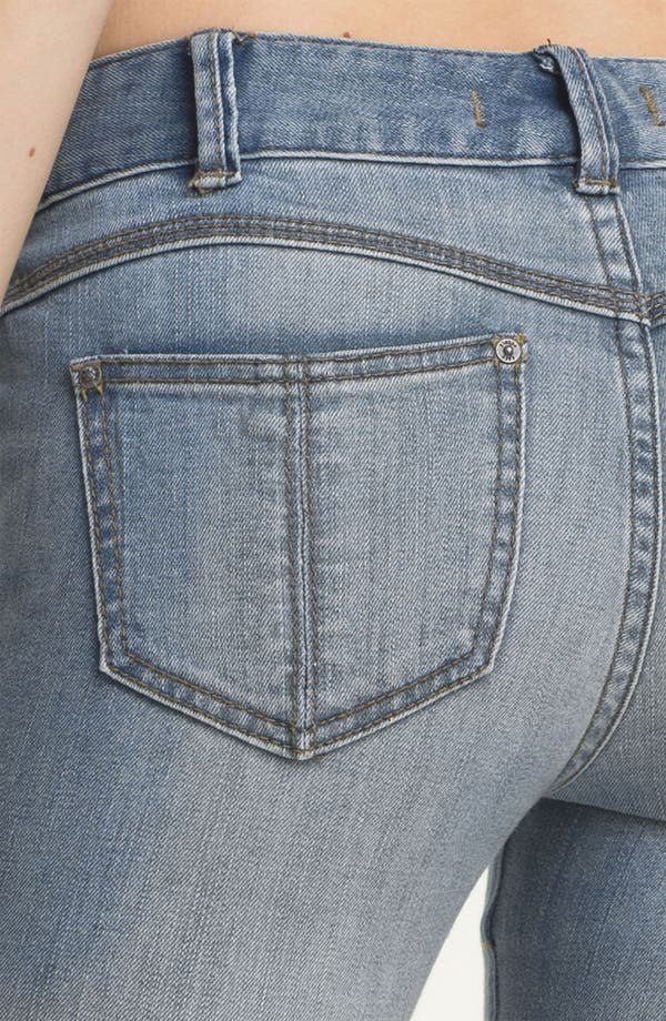 Alternate Image 3  - Free People Stretch Denim Skinny Jeans (Sky Wash)