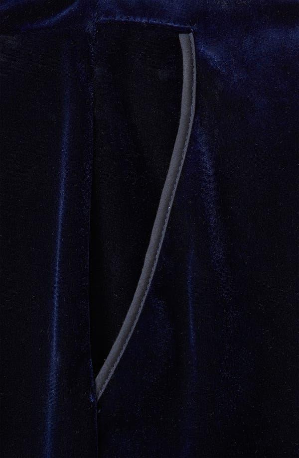 Alternate Image 3  - Topshop Velvet Shorts