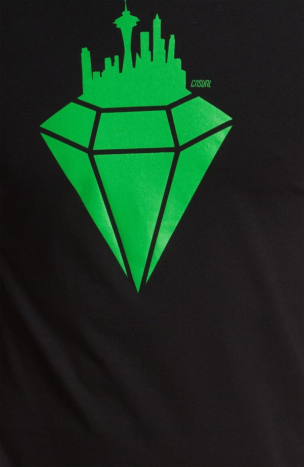 Alternate Image 3  - Casual Industrees 'Emerald' T-Shirt