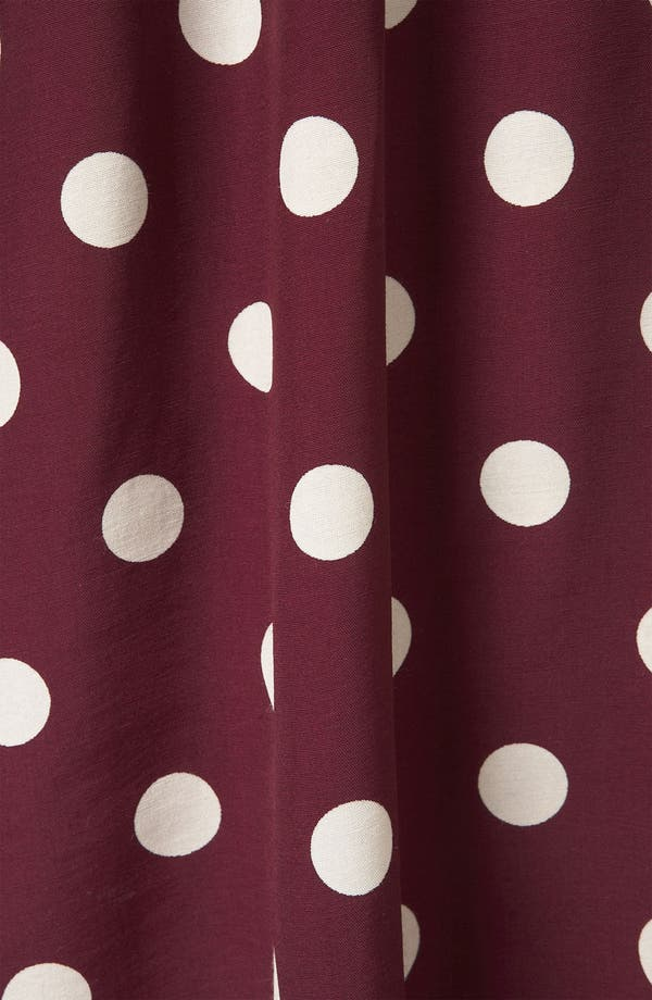 Alternate Image 3  - Topshop Polka Dot Skater Dress