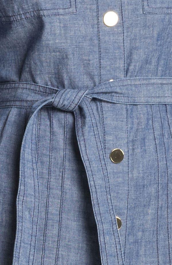 Alternate Image 3  - Tory Burch 'Cora' Cotton Shirtdress