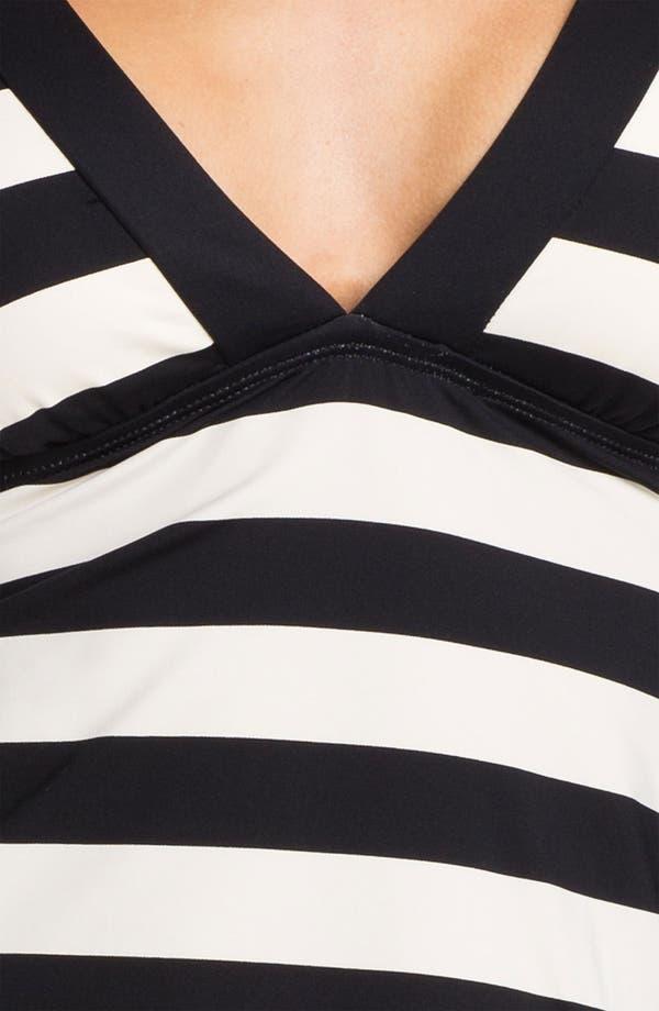 Alternate Image 3  - La Blanca Stripe Tankini Top