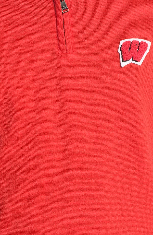Alternate Image 3  - WISCONSIN 1/4 ZIP SWEATER VEST
