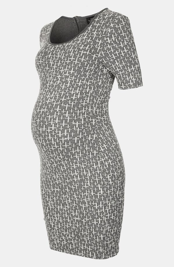 Alternate Image 1 Selected - Topshop 'Ottoman Cross' Maternity Tunic