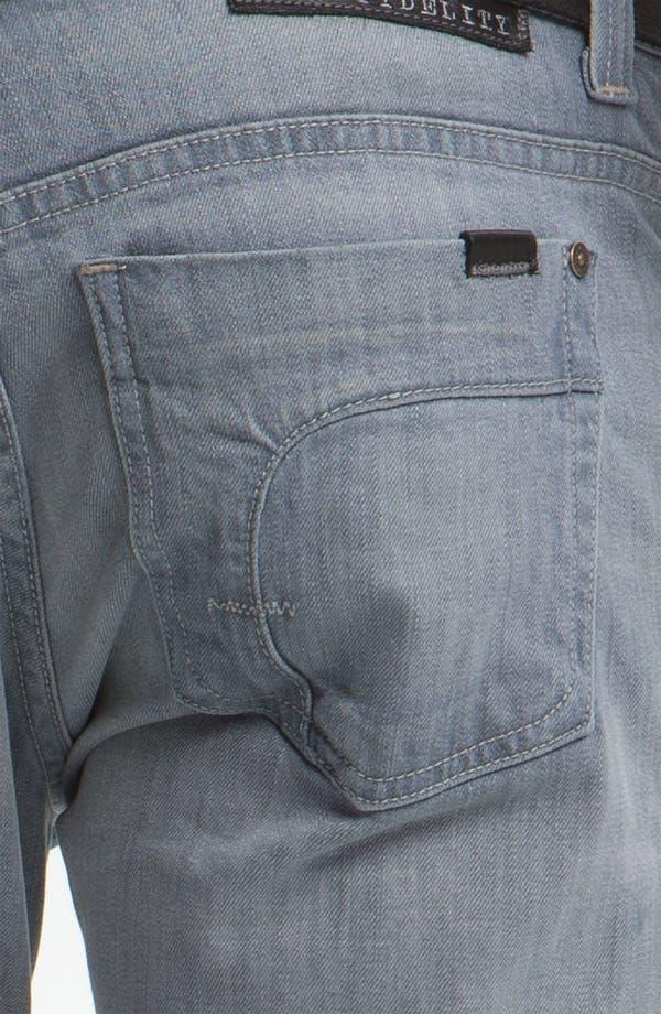 Alternate Image 4  - Fidelity Denim 'Impala' Straight Leg Jeans (Voodoo Ghost)