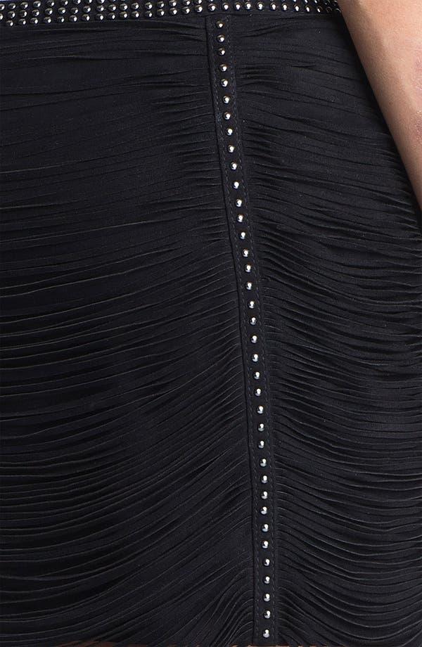 Alternate Image 2  - Haute Hippie Studded Fringe Suede Miniskirt